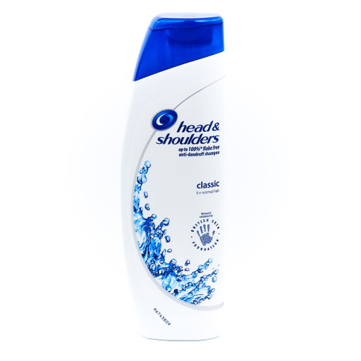 head & shoulders shampooing