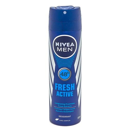 Nivea men déo spray active fresh