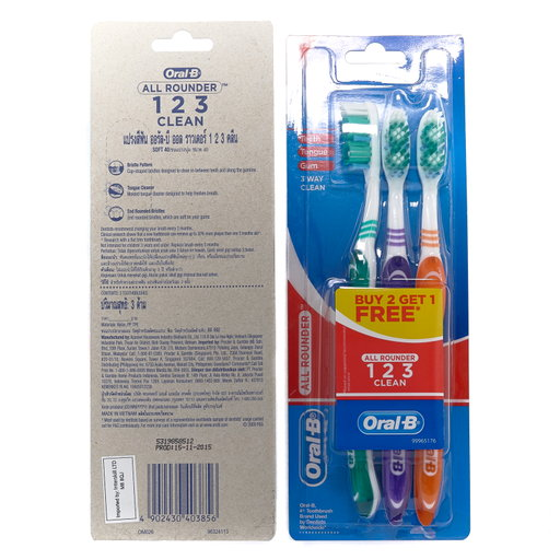 Oral B brosse à dent soft