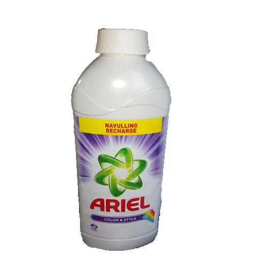 Ariel lessive liquide color et style