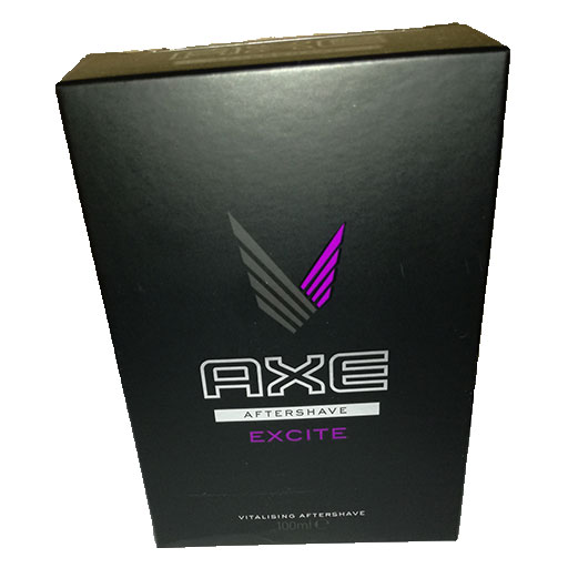 AXE aftershave excite