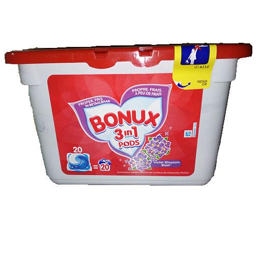 BONUX 3en1 pods violet