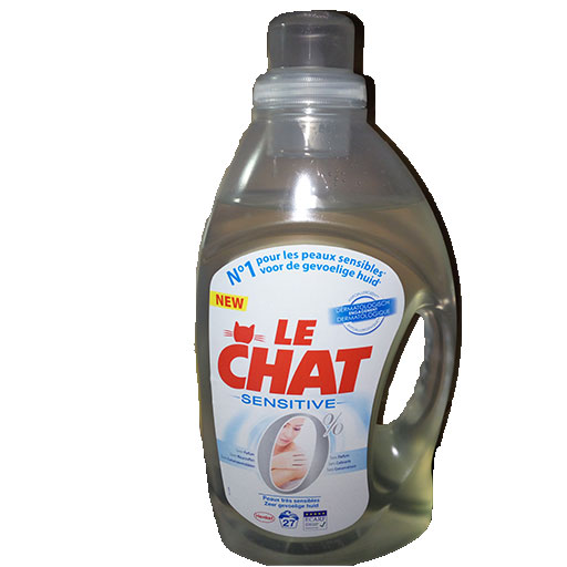 Le chat sensitive lessive liquide
