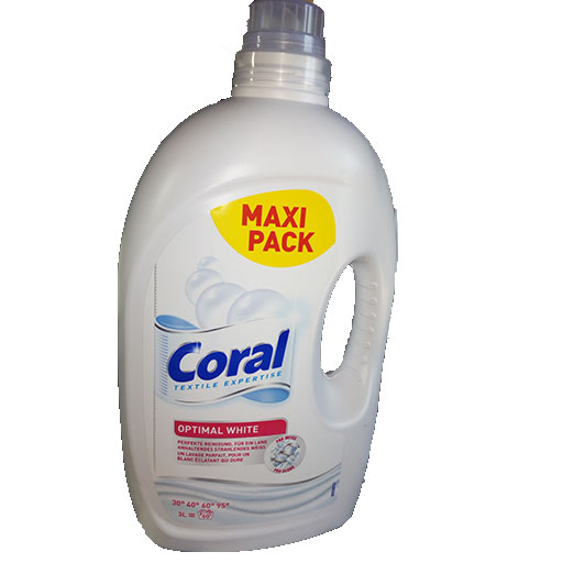 Coral optimal white blanc 3l