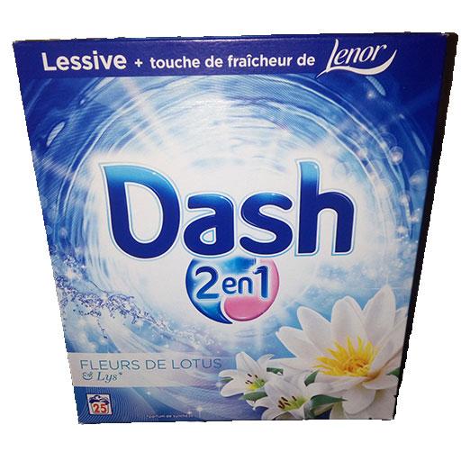 DASH 2en1 Fleur de lotus