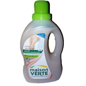 Maison verte lessive liquide peux sensible