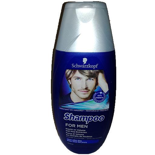 schwarzkopf shampoo force et volume
