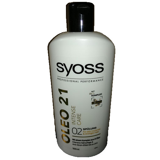 syoss après shampoing intense care
