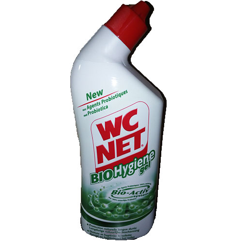 WC NET bio hygiène gel