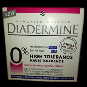 Diadermine haute tolérance