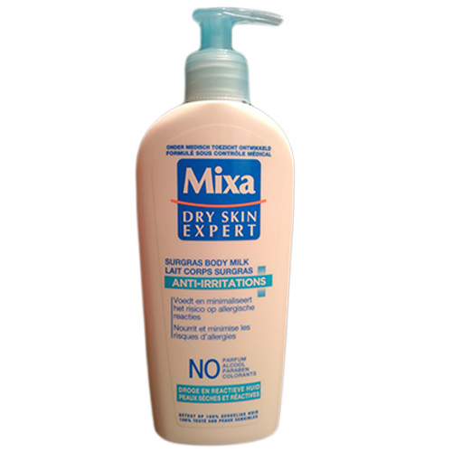 Mixa lait corps anti irritations